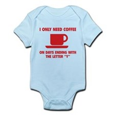 Coffee Infant Bodysuit