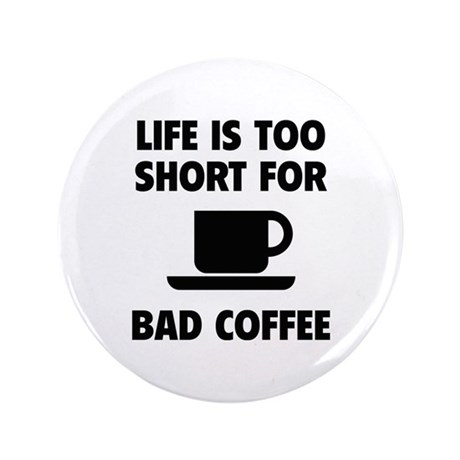 "Coffee 3.5"" Button (100 pack)"