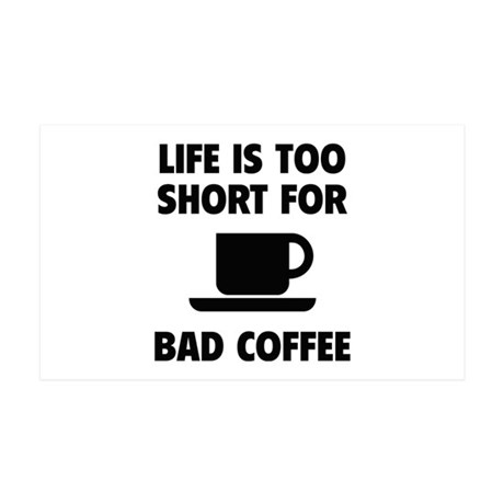 Coffee 38.5 x 24.5 Wall Peel