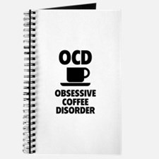 OCD Obsessive Coffee Disorder Journal