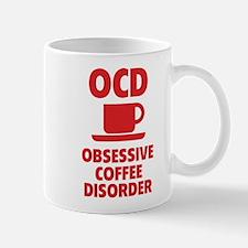 OCD Obsessive Coffee Disorder Mug