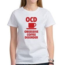 OCD Obsessive Coffee Disorder Tee
