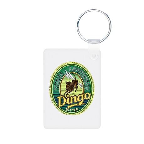 Australia Beer Label 4 Aluminum Photo Keychain