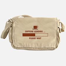 Caffeine Loading ... Please Wait Messenger Bag
