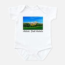 Adelaide City Skyline Infant Creeper