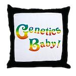 Genetics Baby! Throw Pillow