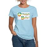 Genetics Baby! Women's Pink T-Shirt
