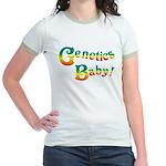 Genetics Baby! Jr. Ringer T-Shirt