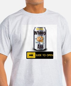 Black and Gold Whoop Ass T-Shirt