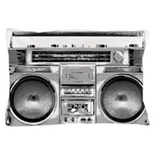 Boombox Pillowcase Pillow Case