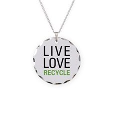 Live Love Recycle Necklace