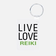 Live Love Reiki Keychains