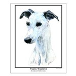 W Whippet Open Edition Small Poster