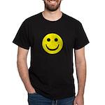 Smiley Face Black T-Shirt