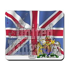Silky Flag of United Kingdom Mousepad