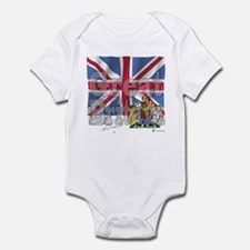 Silky Flag of Great Britain Infant Creeper