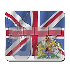 Silky Flag of UK Mousepad