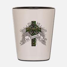 Kennedy Tartan Cross Shot Glass