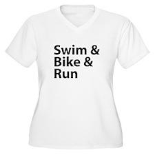 Swim & Bike & Run T-Shirt