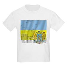 Silky Flag of Ukraine Kids T-Shirt