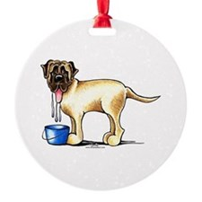 Mastiff Drool Ornament