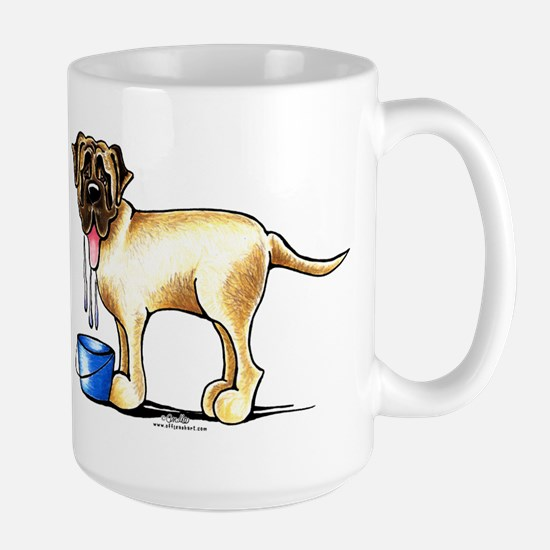 Mastiff Drool Large Mug