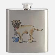 Mastiff Drool Flask