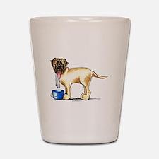 Mastiff Drool Shot Glass