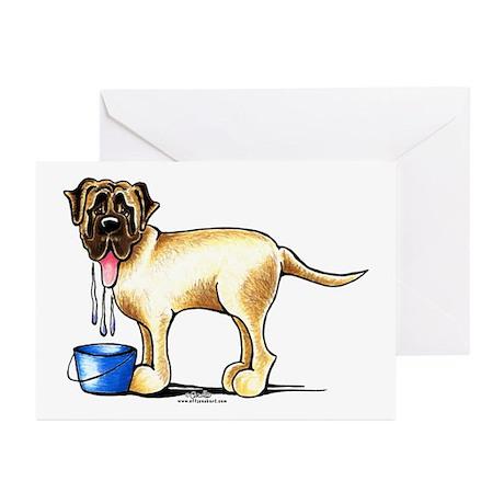 Mastiff Drool Greeting Cards (Pk of 20)