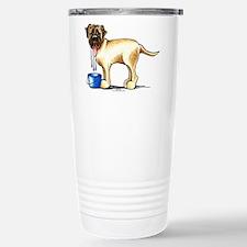 Mastiff Drool Stainless Steel Travel Mug