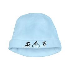 Triathlon baby hat