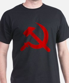 Hammer & Sickle Black T-Shirt