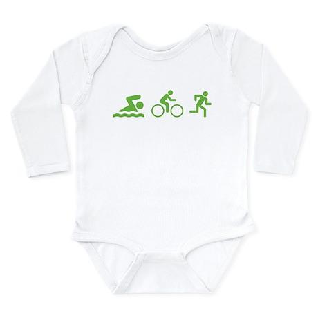 Triathlon Long Sleeve Infant Bodysuit