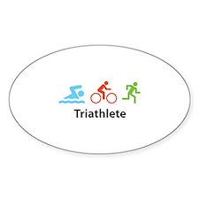 Triathlete Decal