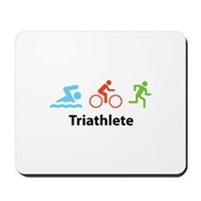 Triathlete Mousepad