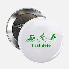 """Triathlete 2.25"""" Button (10 pack)"""