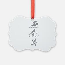 Triathlete Ornament