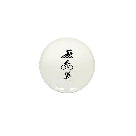 Triathlete Mini Button (100 pack)