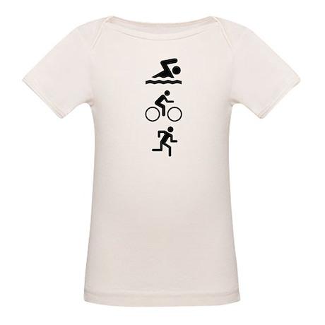 Triathlete Organic Baby T-Shirt