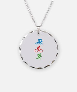 Triathlete Necklace