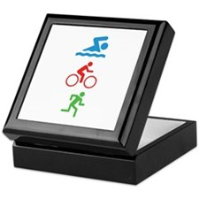 Triathlete Keepsake Box