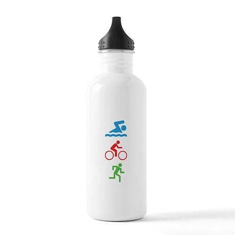 Triathlete Stainless Water Bottle 1.0L