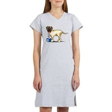 Mastiff Drool Women's Nightshirt