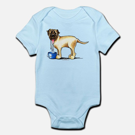 Mastiff Drool Infant Bodysuit