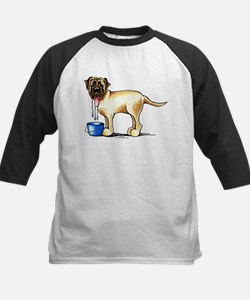 Mastiff Drool Kids Baseball Jersey