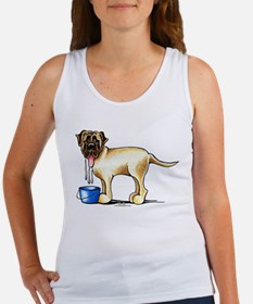 Mastiff Drool Women's Tank Top