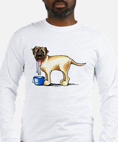 Mastiff Drool Long Sleeve T-Shirt