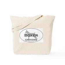 Boxer GRANDMA Tote Bag