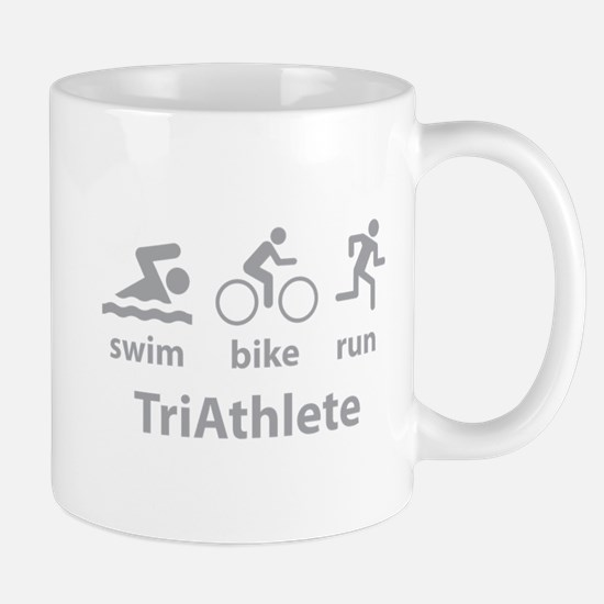 Swim Bike Run TriAthlete Mug