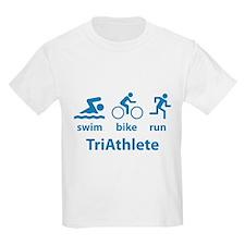 Swim Bike Run TriAthlete T-Shirt